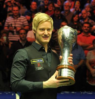 UK Championshipin otteluohjelma ja tulokset
