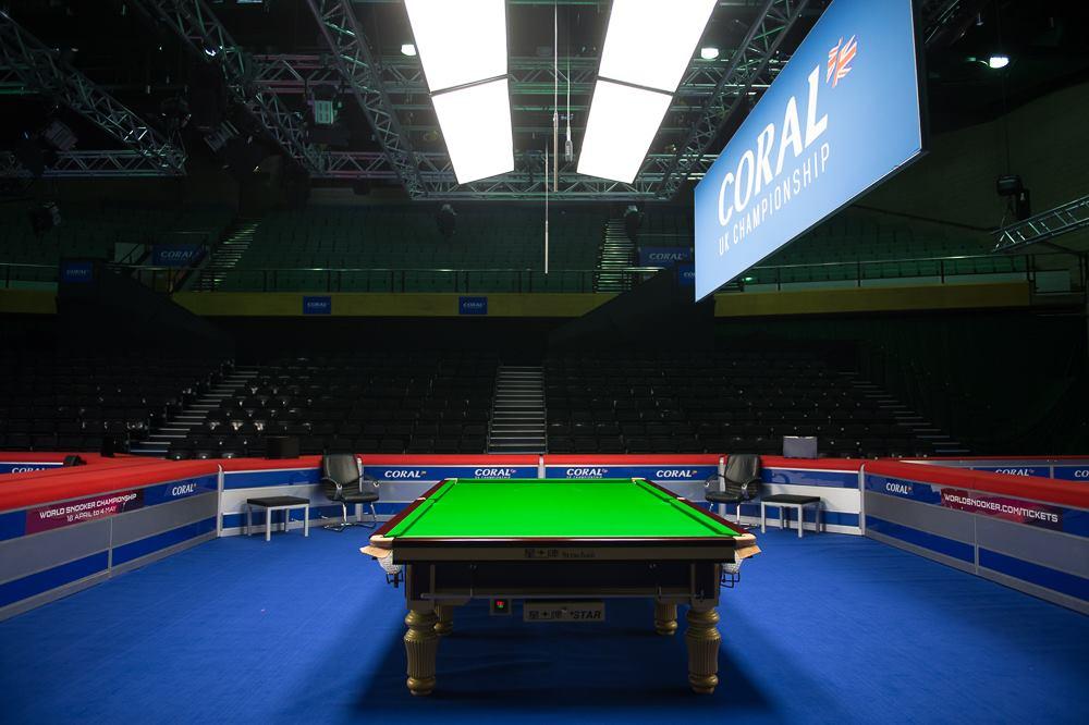 Snookersyksyn huipennus on täällä - UK Championship alkaa tiistaina!