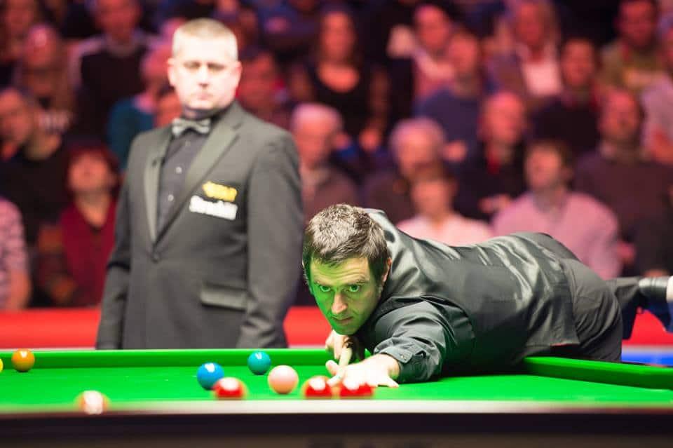 O'Sullivan 18 erän voittoputkessa Higginsin kimppuun