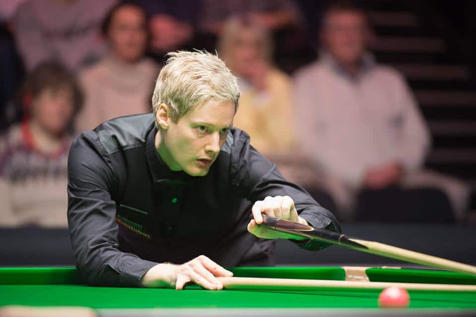 World Open alkoi Robertsonin näytöksellä - ruosteinen Williams niukasti jatkoon