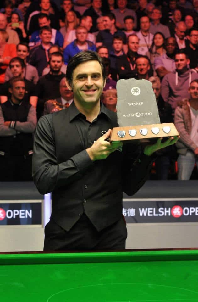 Welsh Openin otteluohjelma ja tulokset