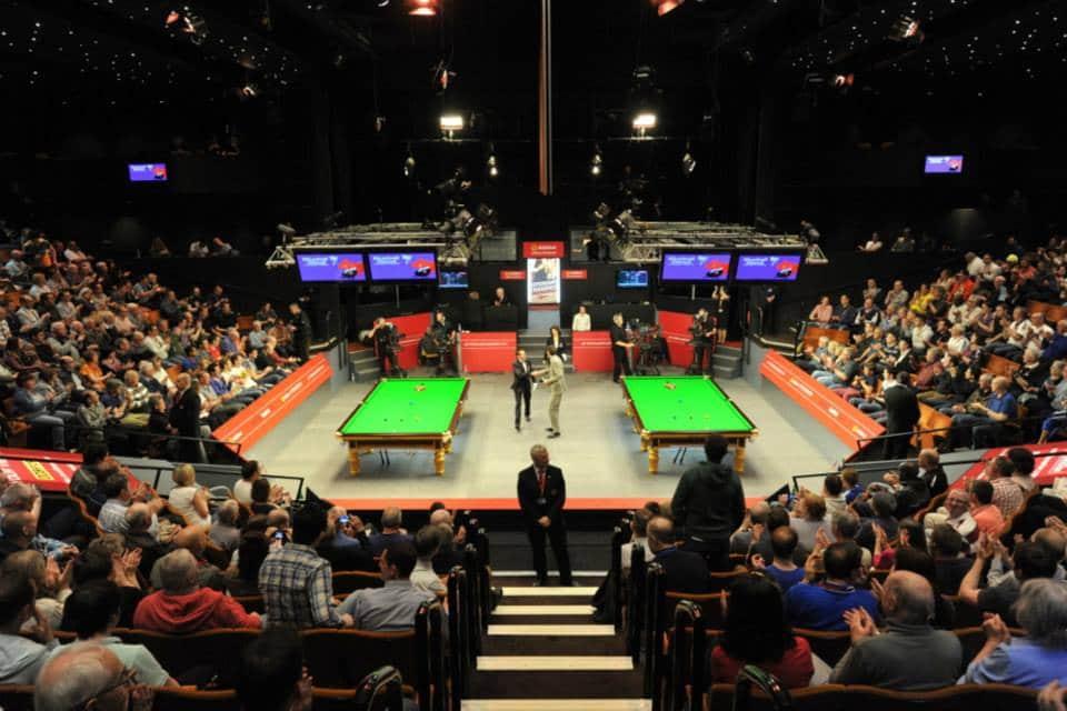Snookerin MM-karsinnat ilmaiseksi Unibet-TV:stä - Robin Hull yhä mukana!
