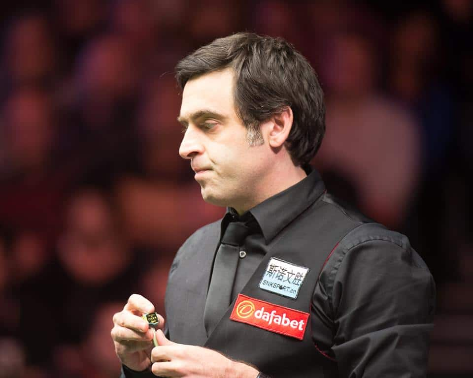 Ronnie O'Sullivan Champion of Champions