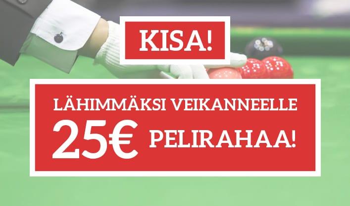 KISA! Veikkaa Robin Hullin suurin breikki ja voita 25€ pelirahaa!