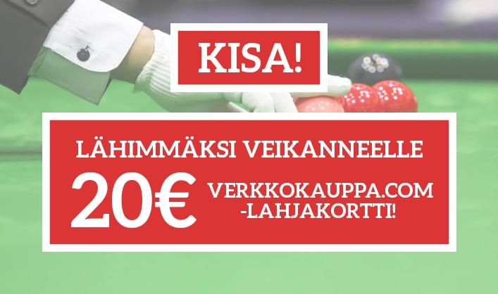 KISA: Veikkaa Hull-Robertson -ottelun suurin breikki ja voita 20€:n Verkkokauppa.com-lahjakortti!