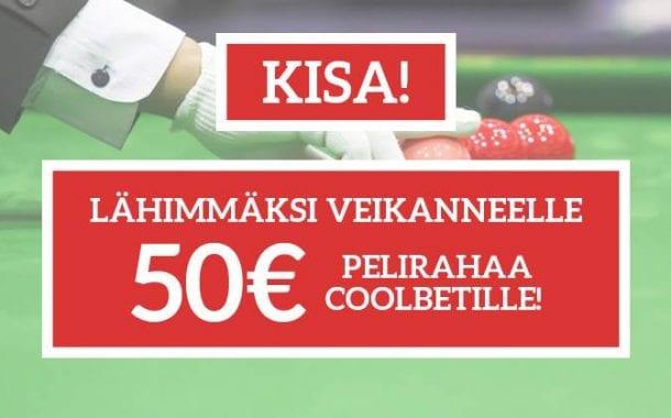 KISA: Veikkaa MM-finaalin suurin breikki ja voita 50 euroa pelirahaa!