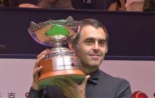 Fantastinen voitto! Ronnie O'Sullivan on jälleen Shanghai Mastersin kuningas!