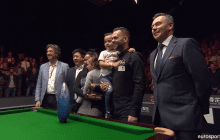 Jimmy Robertson on rankingturnausvoittaja - ihmeturnaus päättyi voitonjuhliin