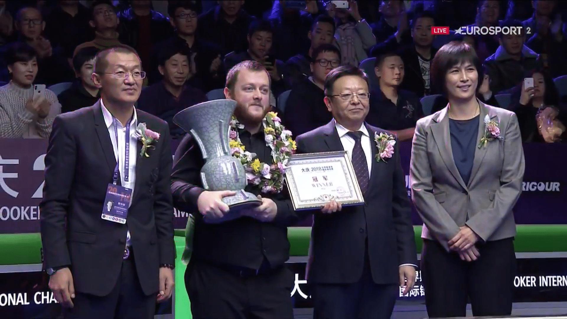 Century-tykki Allen International Championshipin mestaruuteen