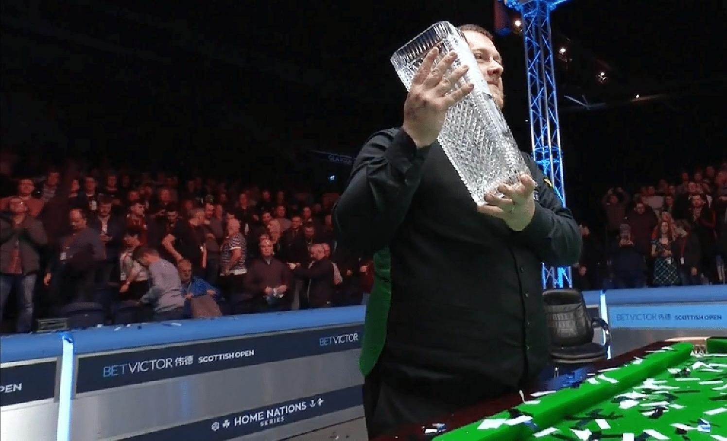 Mark Allen huipensi huikean vuotensa - Scottish Open -mestaruus Pohjois-Irlantiin