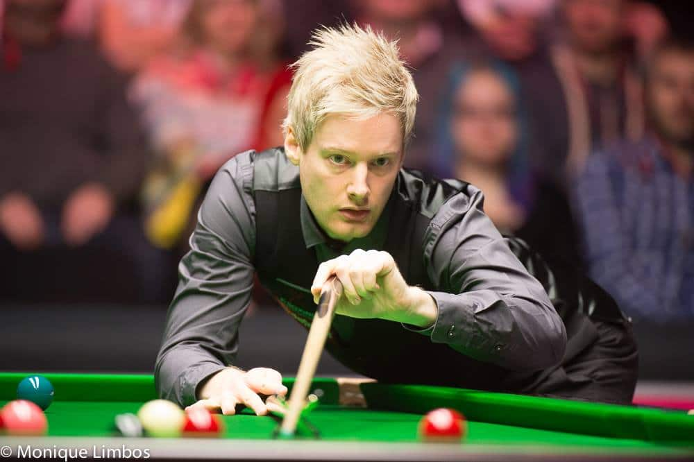 Snookerin UK Championshipin yllätykset jatkuvat – nyt turnauksesta tippui Neil Robertson