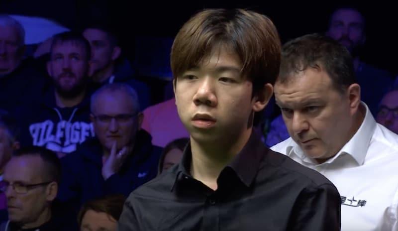 Lei Peifan teki ammattilaisuransa ensimmäisen 100 pisteen breikin – Ronnie O'Sullivan päätti kuitenkin lupauksen turnauksen