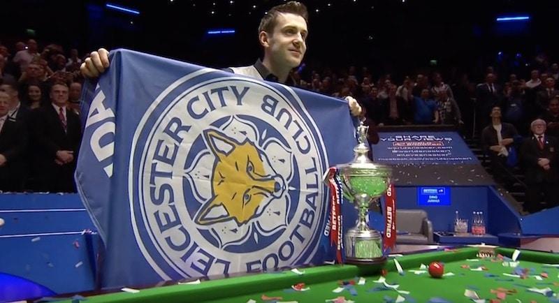 Tällainen mies on Mark Selby – tunnetaan intohimoisena Leicester-fanina