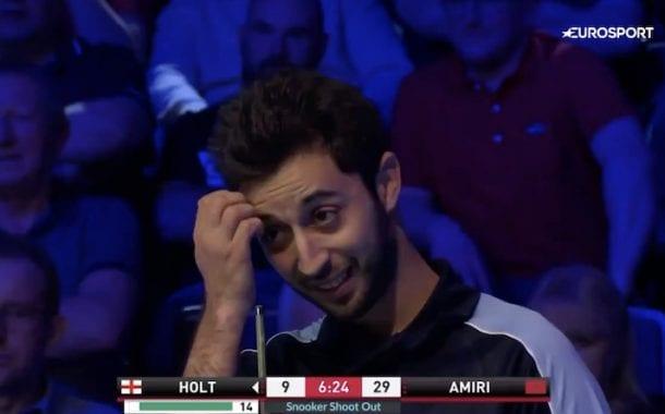 Amine Amiri tippui nololla tavalla Shoot Out -turnauksesta – teki kaksi kertaa saman sääntörikkeen