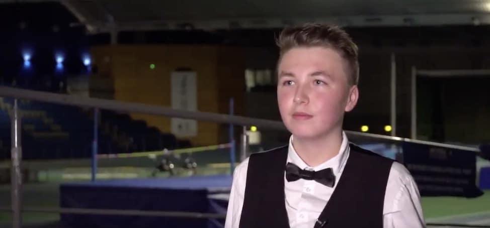 Vasta 15-vuotias Ben Mertens teki historiaa – eteni snookerin MM-karsinnoissa jatkoon